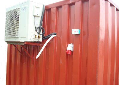 contenedor aire acondicionado